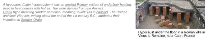 roman hypocaust